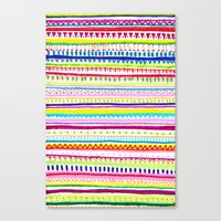 Summer Anxiety Canvas Print