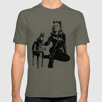 Cat-tastic Mens Fitted Tee Lieutenant SMALL