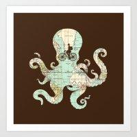 All Around The World Art Print