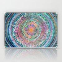 Pink And Turquoise Manda… Laptop & iPad Skin