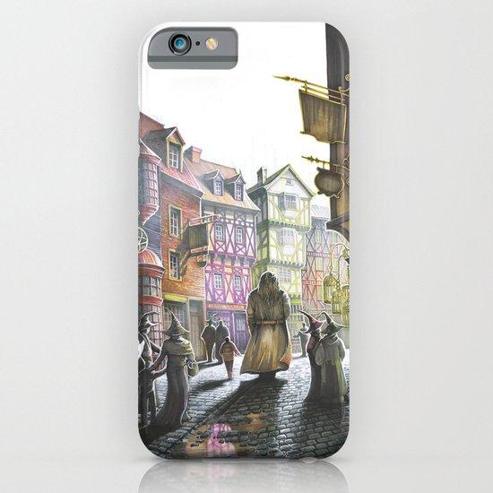 Diagon Alley iPhone & iPod Case by Katarzyna Kmiecik