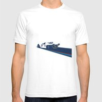 917 Mens Fitted Tee White SMALL