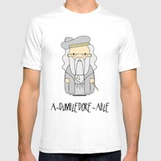 A-DUMBLEDORE-ABLE.  White Mens Fitted Tee SMALL