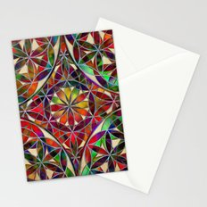 Flower of Life variation Stationery Cards