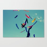 Light as a Feather Canvas Print