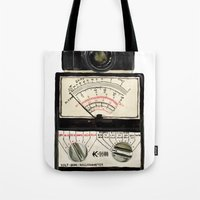 Analogue stack Tote Bag