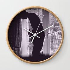 Bass Player Wall Clock