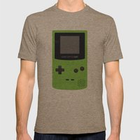 GAMEBOY Color - Green Mens Fitted Tee Tri-Coffee SMALL