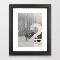 Heimat 2 Framed Art Print