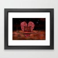 Deepheart Framed Art Print