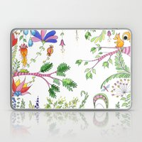 Bucolic forest Laptop & iPad Skin