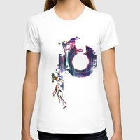 Mix Tape #5 Womens Fitted Tee White SMALL