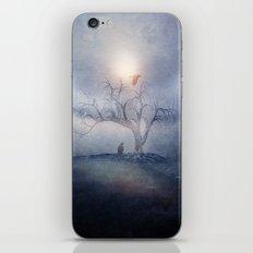 Blue sunrise iPhone & iPod Skin