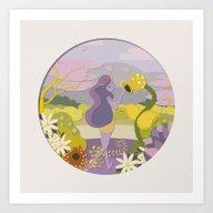 Princess Lill Art Print