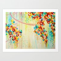 SUMMER IN BLOOM - Beauti… Art Print