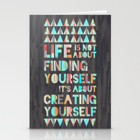 Create Yourself Stationery Card