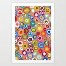 freckle spot blush Art Print