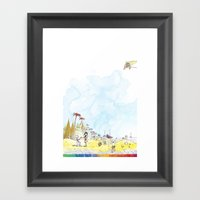you're COLOR - Page 2 Framed Art Print