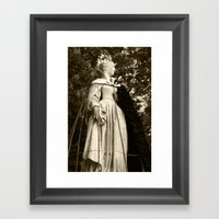 The Queen, Side View (s… Framed Art Print
