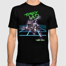 TOTALLY WILD SMALL Black Mens Fitted Tee