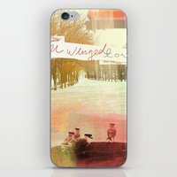 Without Care Like Birds iPhone & iPod Skin