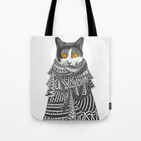 Colder Than I Thought Tote Bag