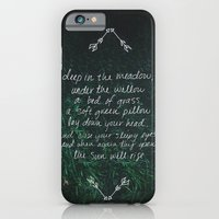 iPhone & iPod Case featuring Rue's Song by Leah Flores
