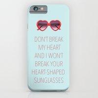 DON'T BREAK MY HEART iPhone 6 Slim Case