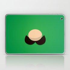 Green Face Laptop & iPad Skin
