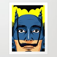 Dali Knight Art Print