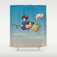 Magical Deliveries Shower Curtain