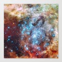 Star Cluster Canvas Print