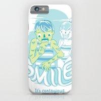 Smile It's Contagious :D iPhone 6 Slim Case