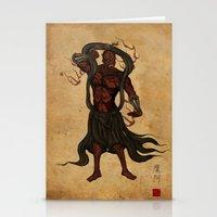Darth A-un Stationery Cards