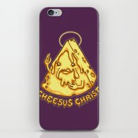 Cheesus Christ iPhone & iPod Skin