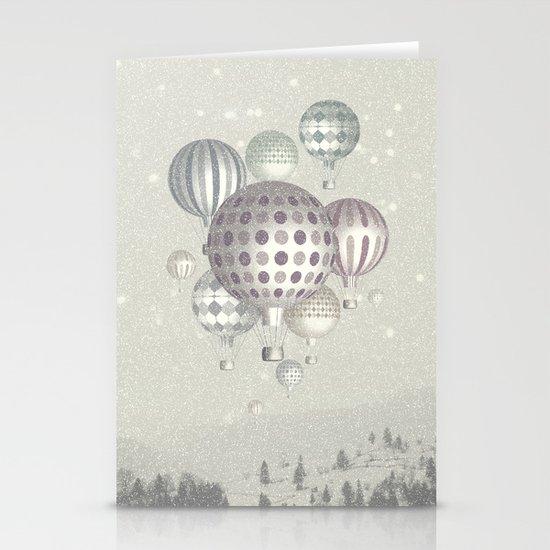 Winter Dreamflight Stationery Card