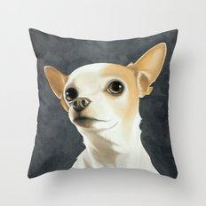 KC the Dog Throw Pillow