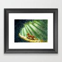 Sunshine Charlie Framed Art Print