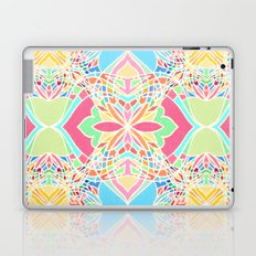 Moroccan Inspired Bright Pastel Doodle Design Laptop & iPad Skin