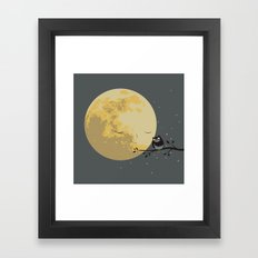 My Crony Framed Art Print