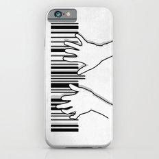 Barcode pianist iPhone 6 Slim Case