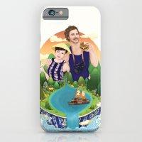 Couple custom illustration for I&S iPhone 6 Slim Case