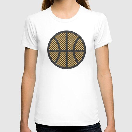 Op Art Basketball. T-shirt