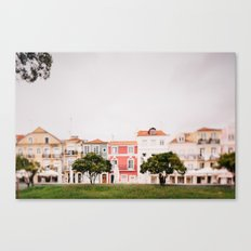 Colourful Row Canvas Print