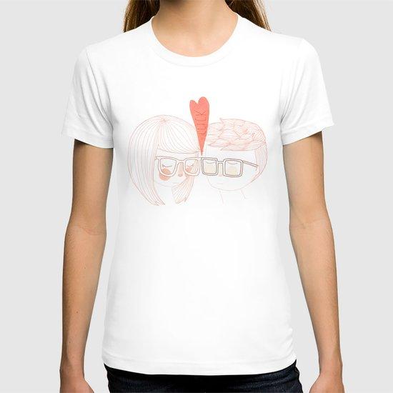 Nerd Kiss T-shirt