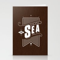 Facing The Sea Stationery Cards