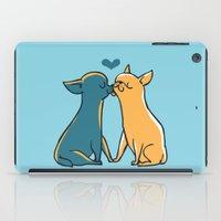 Chihuahua Kisses iPad Case