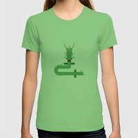 dragon Womens Fitted Tee Grass SMALL