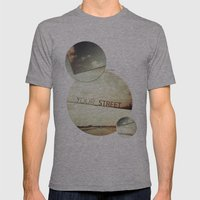 Your Street Mens Fitted Tee Athletic Grey SMALL