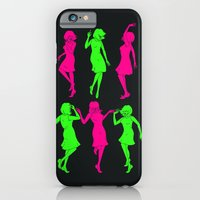 girls iPhone & iPod Cases featuring Girls by Derek Eads